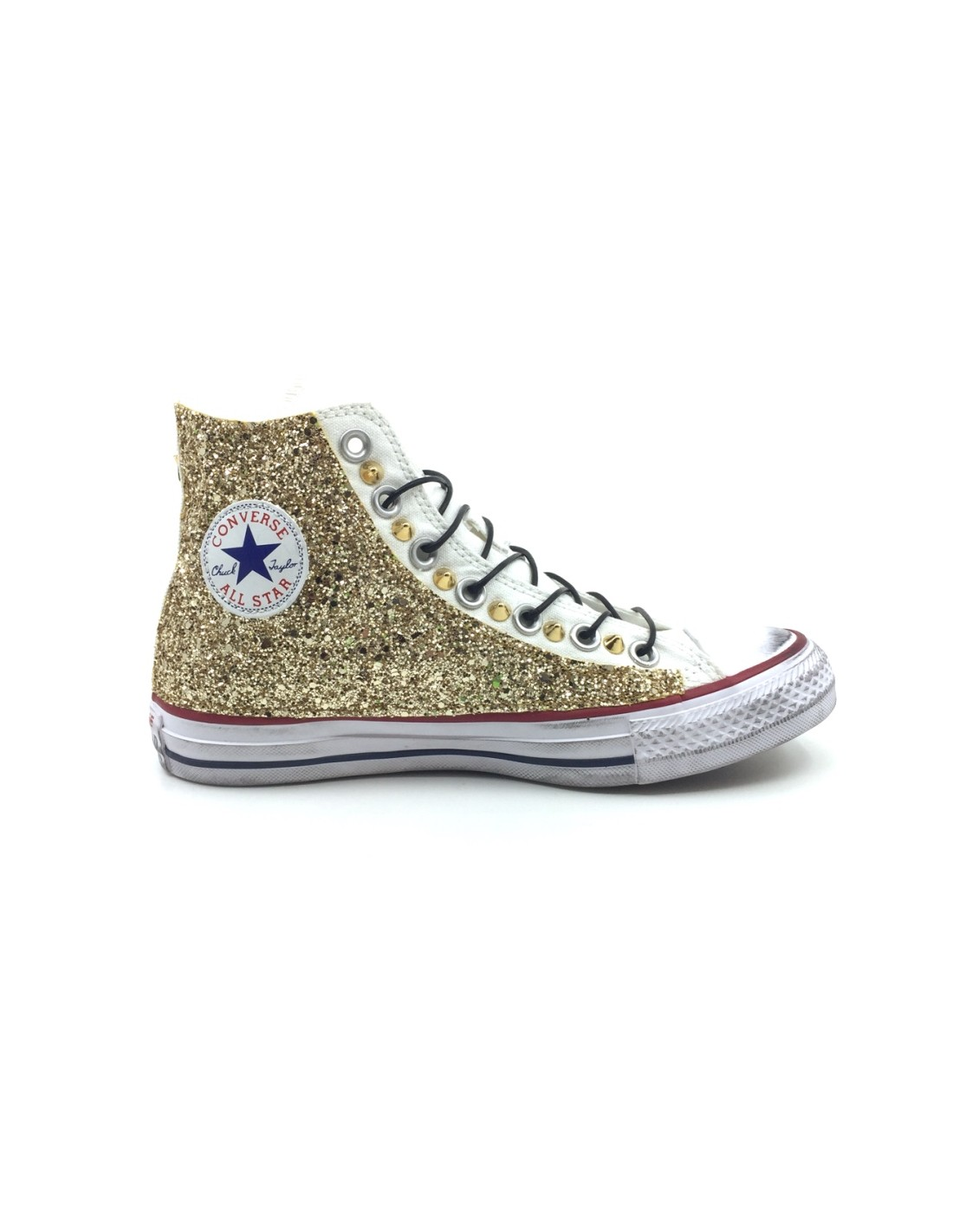 Converse AllStar Bianca Glitter